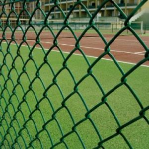 Alibaba Hot 1 Inch Chain Link Fence Panels / Galvanized Chain Link Fence / Plastic Chain Link Fence pictures & photos