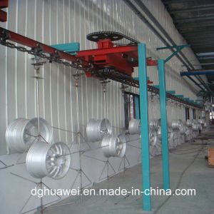 Painting Machine for Car Wheel Hub