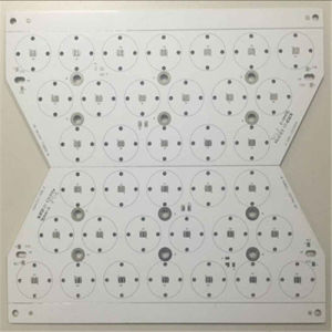 Single-Layer Aluminum Based PCB Board for LED pictures & photos