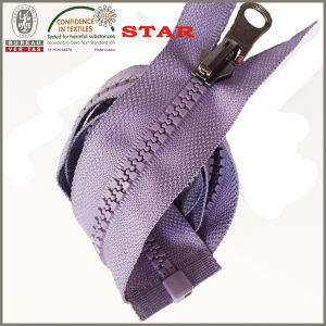 Open End Plastic Zipper Wholesale