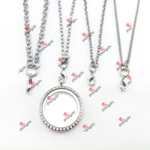 Christmas Gifts Custom Stainless Steel Chain Sweater Necklace (CSN60104)