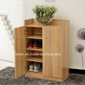 Living Room Wooden Shoe Cabinet Rack