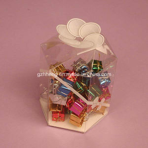 Custom Clear Plastic Box Packaging (PP candy box) pictures & photos