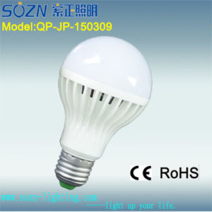 9W LED Bulb Light with Plastic Material for Indoor Use