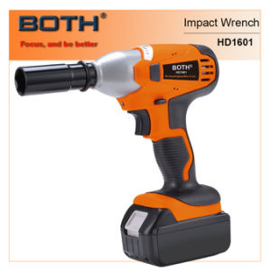4.0ah Li-ion Impact Wrench Cordless Driver (HD1601B) pictures & photos