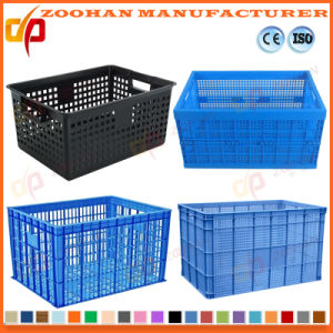 Fruits and Vegetables Moving Pallet Crate Plastic Turnover Box (Zhtb1) pictures & photos