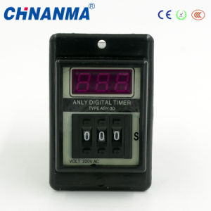 220V LED Display Wide Range Cycle Digital Time Relay pictures & photos