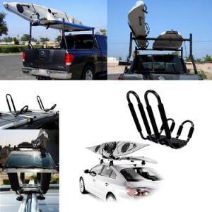 Kayak Roof Carrier >> Kayak Roof Rack Folding Angle Adjustable Aluminum J Style Canoe Carrier Holder
