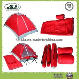 Camping Combo Set Outfit Including Chair Sleeping Bag