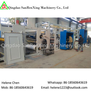 Rotary Bar Automatic Adhesive UV Coating Machine for Sticker