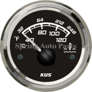"Best Sale 2"" Water Temp Gauge Meter with Temp Sensor with Backlight pictures & photos"