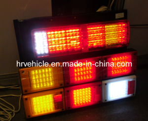 LED Jumbo Rear Combination Light for Truck with Reflector pictures & photos