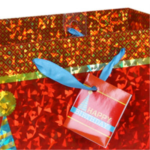 2016 Hologram Kids Birthday Party Gift Bags pictures & photos