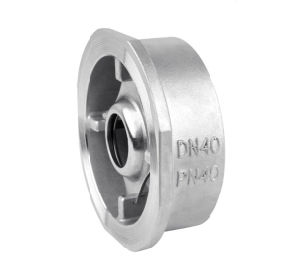 Stainless Steel Wafer Check Valve Pn40 pictures & photos