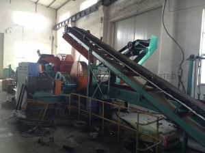 Waste Used Tire Recycling Machine Rubber Powder Cutting Production Line pictures & photos