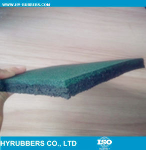 Factory Produced Rubber Gym Floor in Roll pictures & photos