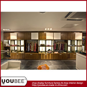 Wooden Display Furniture for Womenwear Retail Store