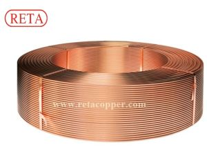 Level Wound Coil ASTM B280 ASTM B68 Air Conditioning Soft Copper Tube pictures & photos