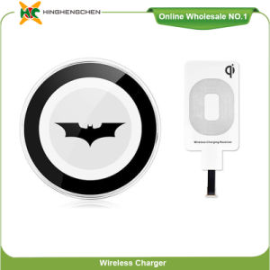Batman Cartoon Qi Standard Universal Wireless Charger Charging Pad pictures & photos