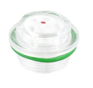 Air Compressor Round Clear Plastic Oil Tank Level Indicator Sight Glass 27mm pictures & photos