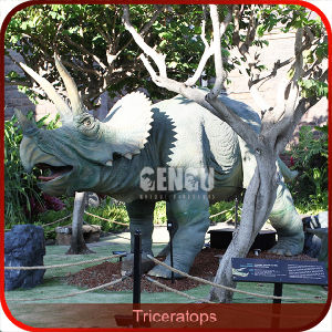 Gengu Amusement Park Life Size Animatronic Dinosaur pictures & photos