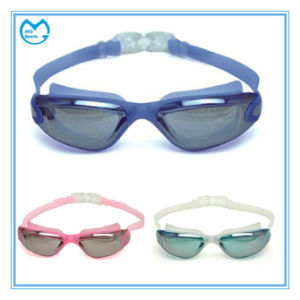 Cheap Sports Direct Anti Slip Silicone Anti Fog Swimming Goggles pictures & photos