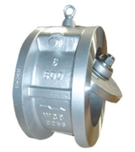 Stainless Steel Single Disc Wafer Check Valve pictures & photos
