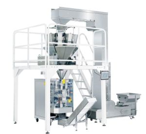 CE Multi-Heads Weigher & Vffs Snacks Packaging Machine