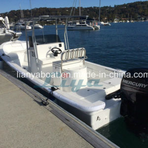 Liya Hot Selling 4.2m-7.6m Fiberglass Electric Boat Fishing Vessel Sale pictures & photos