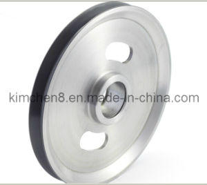 Ceramic Coated Aluminum Idler Pulley D202*H14mm for Enamelling Machine pictures & photos