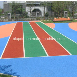 1-4mm Colorful EPDM Pellet with High Elastic for Sports Surfacing