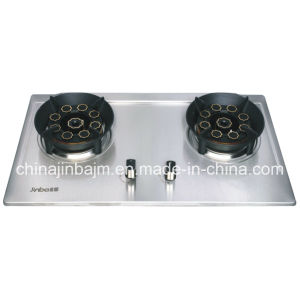 2 Burner #135*#135 Mushrooms Windproof Built-in Hob pictures & photos
