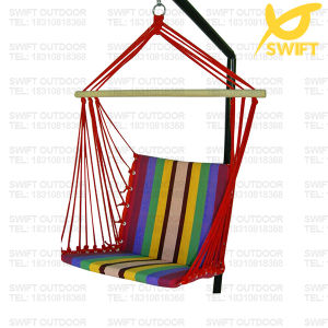 High Quality Rainbow Quilted Hanging Chair