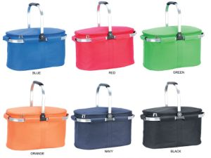 Hot Sales Insulated Aluminium Picnic Cooler Basket Bag for Lunch pictures & photos