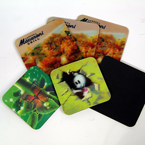 Eco-Friendly 3D Lenticular Tea Coaster