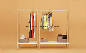 Shop Stainless Steel Metal Display Stand Rack for Clothes pictures & photos