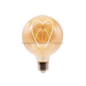 E27 /E26 Love Filament LED Edison Bulb Dimmable