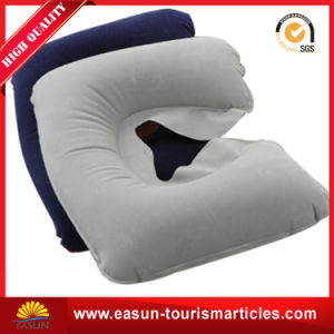 Inflatable Camping Back Support PVC Pillow pictures & photos