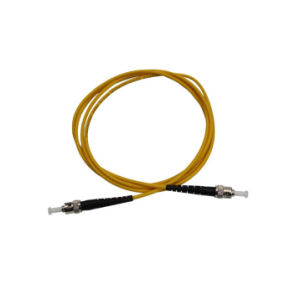 St Fiber Optic Patch Cord Optical Fiber Patch Cord pictures & photos