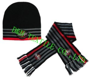 Competitive Promotional Customized Football Knitted Set (YZDH-G101)