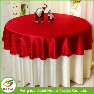 2017 Custom Printed Round Hotel Banquet Table Cloth