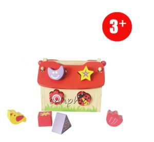 Canphia 8 Hole for Shape Sorter and Maths Learning Wooden Toys