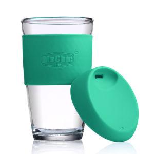 450 Ml Borosilicate Gl Water Cup Glazing Coffee Mug With Silicone Lid Insulated