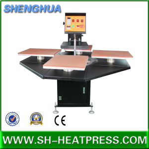 Automatic Heat Press Machine Pneumtic Four Stations Sublimation Printing Equipment pictures & photos