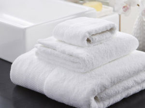 Luxurious Hotel and SPA Quality White Bath Towel (DPF1019) pictures & photos