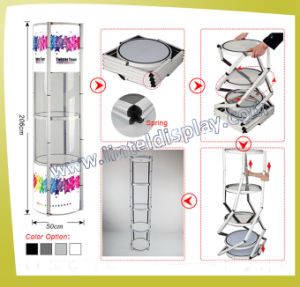 5 Tier Aluminum Display Stand Display Tower (LT-07) pictures & photos