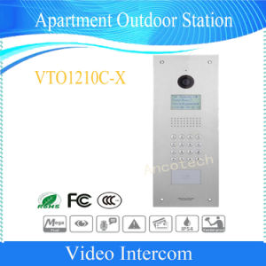 Dahua Video Intercom Night Vision Security Apartment Outdoor Station (VTO1210C-X) pictures & photos