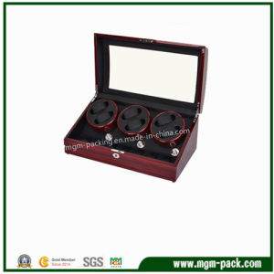 Black Glossy Lacquering Wood Watch Winder pictures & photos