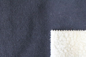 Composite Lambs Wool Knitting Fabric Bonder Fur pictures & photos
