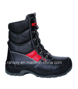 Professional Red Part Sport Style Safety Military Shoes (HQ03025) pictures & photos